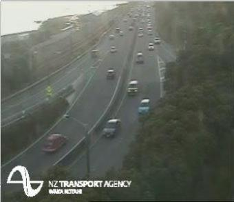 Lower Hutt webcam - Lower Hutt SH2 Petone offramp webcam, Wellington, Hutt City