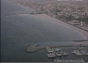 Dubai webcam - Dubai webcam, Southwest Asia, Persian Gulf