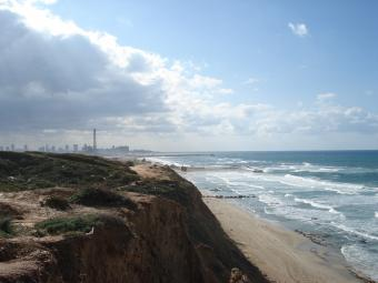 Tel Aviv webcam - Tel Baruch Beach webcam, Gush Dan, Tel Aviv