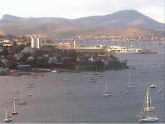 Hobart webcam - Wrest Point webcam, Tasmania, Division of Denison