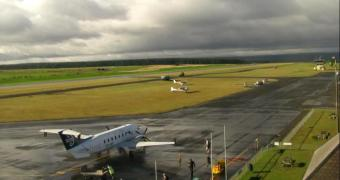Taupo webcam - Taupo Airport webcam, Waikato, Taupo District