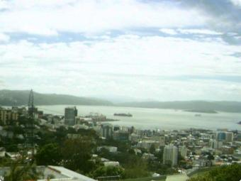 Wellington webcam - Wellington Harbour webcam, Wellington, Wellington City
