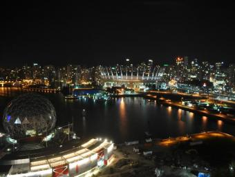 Vancouver webcam - BC Place Stadium Exterior webcam, British Columbia, British Columbia