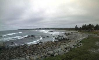 White Point webcam - White Point Beach Resort webcam, Nova Scotia, Region of Queens