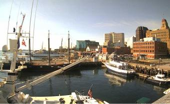 Halifax webcam - The Cable Wharf webcam, Nova Scotia, Halifax