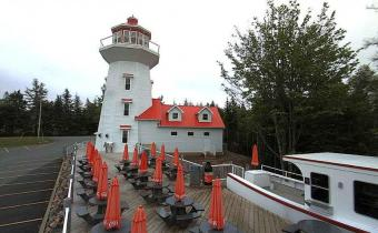 Cobequid Bay webcam - The Lighthouse at Masstown Market webcam, Nova Scotia, Kings County