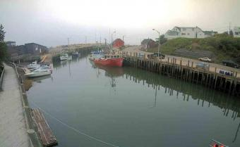 Hall's Harbour webcam - Hall's Harbour 1 webcam, Nova Scotia, Kings County