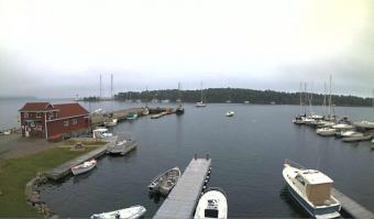 Baddeck webcam - Baddeck Harbour webcam, Nova Scotia, Victoria County
