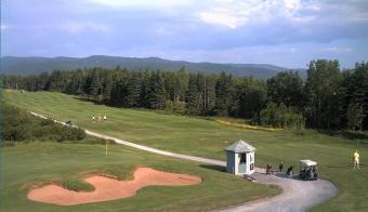 Ingonish webcam - Highlands Links Golf Course Hole 1 Ben Franey webcam, Nova Scotia, Victoria County