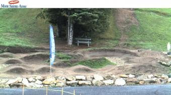 Mont-Sainte-Anne webcam - Mont-Sainte-Anne Pumptrack webcam, Quebec, Quebec
