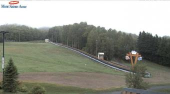 Mont-Sainte-Anne webcam - Mont-Sainte-Anne Bunny Hill webcam, Quebec, Quebec