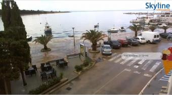 Novalja webcam - Novalja Seaside Promenade webcam, Dalmatia, Pag