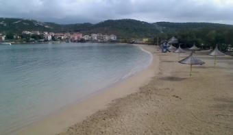 Novalja webcam - Planjka Beach - Novalja Live webcam, Dalmatia, Pag