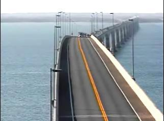 Charlottetown webcam - Confederation Bridge webcam, Prince Edward Island, Queens County