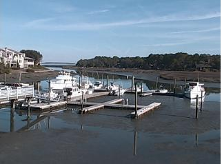 Hilton Head Island webcam - Salty Dog Cafe View 1, Hiltion Head Island webcam, South Carolina, Beaufort County