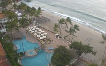 Puerto Vallarta webcam - Dreams Puerto Vallarta Resort and Spa webcam, Nayarit, Bahia de Banderas