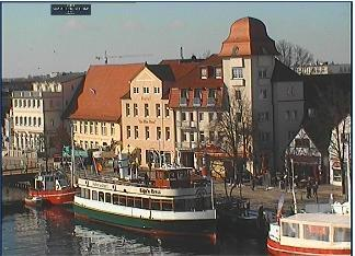 Warnemuende webcam - Hotel Am Alten Strom webcam, Mecklenburg-Vorpommern, Warnemuende