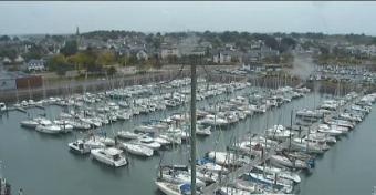 Arzon webcam - Arzon Panorama webcam, Bretagne, Morbihan