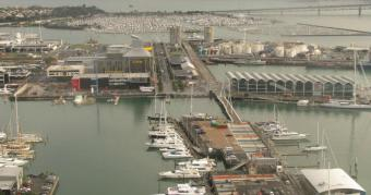 Auckland webcam - Viaduct Harbour, Auckland webcam, Auckland, Auckland City