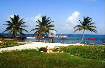Ambergris Caye webcam - Grand Caribe Resort webcam, Belize, Belize