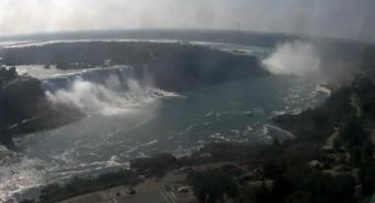 Niagara Falls webcam - American and Canadian Niagara Falls webcam, Ontario, Golden Horseshoe