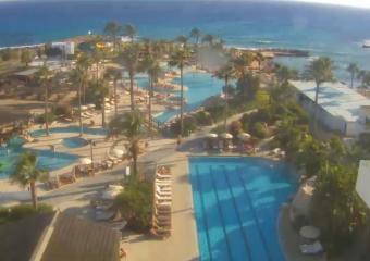 Ayia Napa webcam - Adams Beach Hotel webcam, Famagusta, Famagusta District