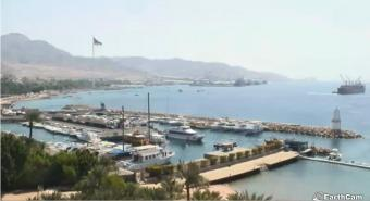 Aqaba webcam - Aqaba Marina webcam, Gulf of Aqaba, Gulf of Aqaba