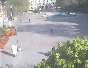 Varna webcam - Varna Independence Square webcam, Black Sea, Bulgarian Black Sea Coast