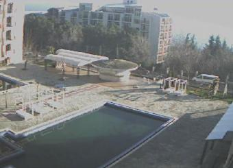 Golden Sands Resort webcam - Bendita apart-hotel webcam, Black Sea, Bulgarian Black Sea Coast