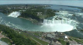 Niagara Falls webcam - Niagara Falls, Canada webcam, Ontario, Golden Horseshoe
