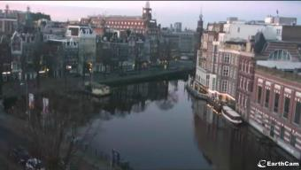 Amsterdam webcam - Amstel Canal, Amsterdam webcam, North Holland, Randstad