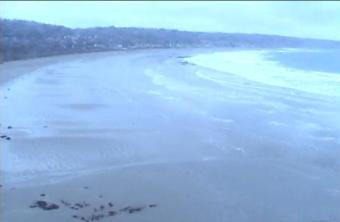 Beaumont-Hague webcam - Plage Assun webcam, Normandy, Manche