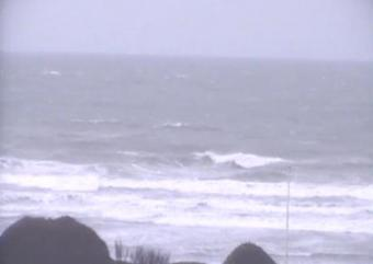 Beaumont-Hague webcam - La Hague Plage de Sciotot webcam, Normandy, Manche