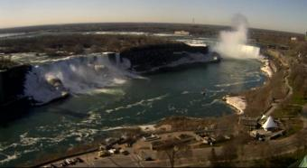Niagara Falls webcam - Niagara Falls Live webcam, Ontario, Golden Horseshoe
