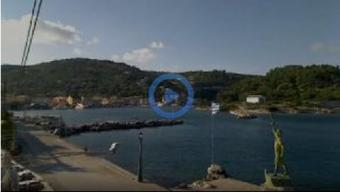 Limin Gaios webcam - Paxos Properties webcam, Ionian Islands, Corfu