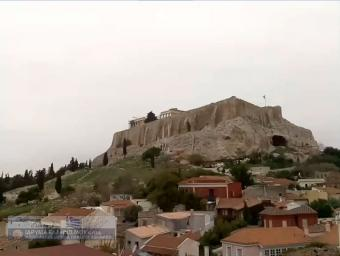 Athens webcam - Akropolis Live Streaming webcam, Cyclades, Attica