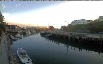 Bay of Fundy webcam - Halls Harbour 1 webcam, Nova Scotia, Annapolis County