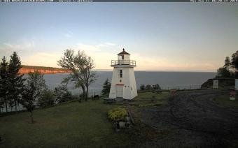 Walton webcam - Walton Lighthouse webcam, Nova Scotia, Hants County