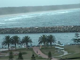 Port Macquarie webcam - Port Macquarie bar crossing webcam, New South Wales , North Coast