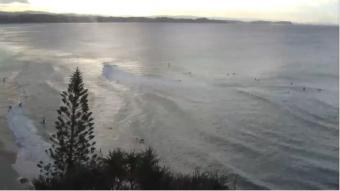 Rainbow Bay webcam - Rainbow Bay, Gold Coast webcam, Queensland, Gold Coast