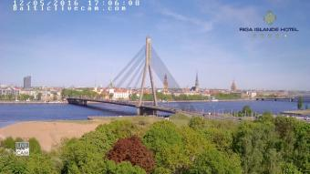 Riga webcam - Riga Islande Hotel webcam, Riga, Riga