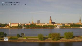 Riga webcam - 11 November Embankment webcam, Riga, Riga