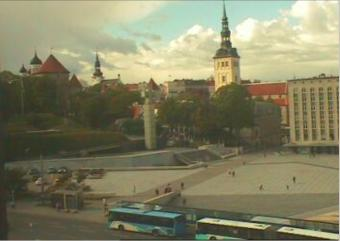 Tallinn webcam - Freedom Square, Tallinn webcam, Harju, Harju