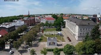 Parnu webcam - Ruutil Platz Parnu webcam, Estonia Regions, Parnu County