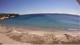 Le Lavandou webcam - Aiguebelle Beach webcam, Provence-Alpes-Cote d'Azur, Var
