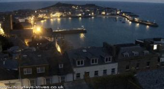 St Ives webcam - Pednolver Apartments webcam, England, Cornwall