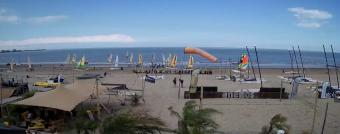Knokke-Heist webcam - Anemos Beachclub webcam, Flanders, West Flanders