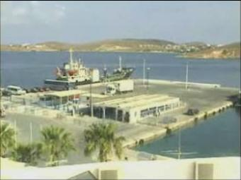 Paros webcam - Parikia Port webcam, Cyclades, Cyclades