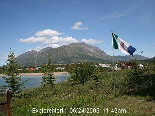 Carcross webcam - Lake Bennet webcam, Yukon, Yukon
