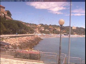 Celle Ligure webcam - Celle Ligure webcam, Liguria, Savona